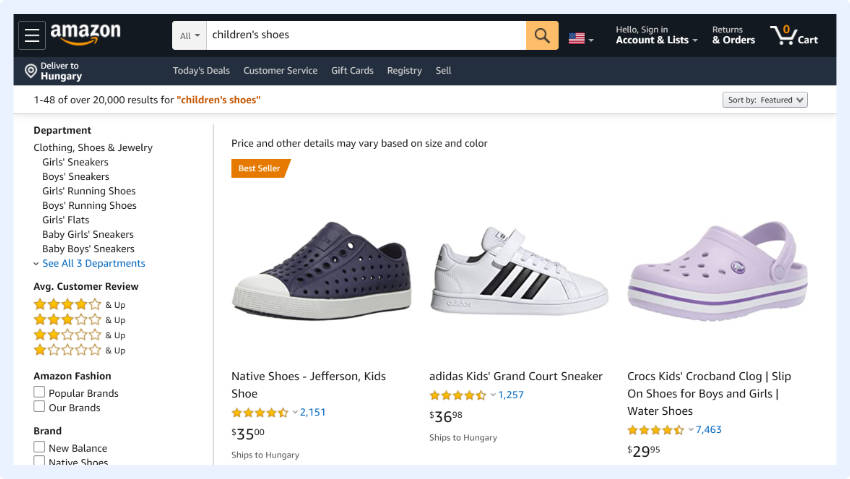 optimizing synonym search to get rid of 0-result pages and gain conversions