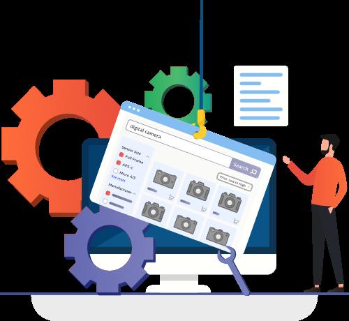 E-Commerce-Suchergebnisseite Optimierung